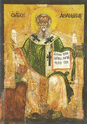 Icon of St. Athanasius of Alexandria