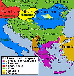 meaning of balkans