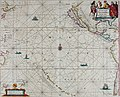 Atlas maritimus, or A book of charts - Describeing the sea coasts capes headlands sands shoals rocks and dangers the bayes roads harbors rivers and ports, in most of the knowne parts of the world. (14566813148).jpg