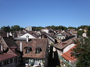 Aubonne - A view over Aubonne