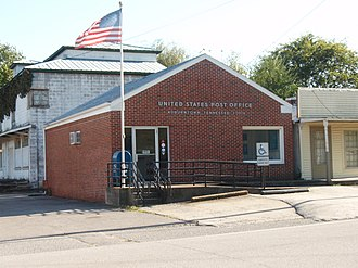 Auburntown, Tennessee - Post office in Auburntown