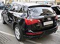 Audi Q5 2.0 TFSI quattro 7-S-Tronic Phantomschwarz Heck.JPG