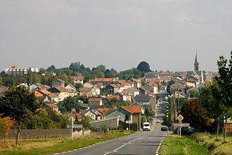 Audun-le-Roman - A general view of Audun-le-Roman