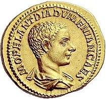 Aureus Diadumenianus (obverse).jpg