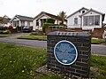 Austin Village blue plaque.jpg