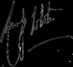 Anup Jalota - Anup Jalota's autograph