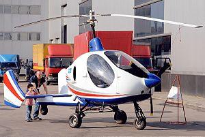 Russian Gyroplanes Gyros-2 Smartflier - Image: Autogyro. (4638354963)