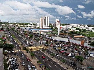 São Luís, Maranhão - Colares Moreira Avenue.