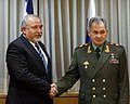 Avigdor Lieberman and Sergey Shoigu, 2017.jpg