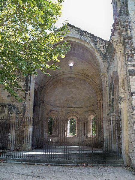 Abbaye de Saint Ruf à Avignon: intérieur abside