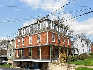Avondale, Pennsylvania - Image: Avondale Chesco PA house 1