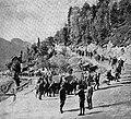Avstro ogrska vojska prodira iz čepovanske doline na Banjško planoto.jpg