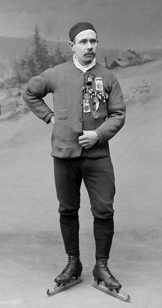 Axel Paulsen - Axel Paulsen c. 1895