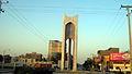Azadi square in Morning - Nishapur 10.JPG