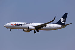 Boeing 737-800 der Shandong Airlines