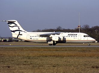 Aegean Airlines - Aegean Airlines used BAe Avro RJ100s between 1999-2011