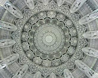 BAPS Shri Swaminarayan Mandir Houston - BAPS Houston Mandir Central Dome