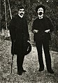 BASA-10K-3-692-1-Peyo Yavorov and Elin Pelin, 1906.JPG