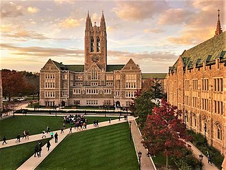 Boston College - Gasson Quadrangle