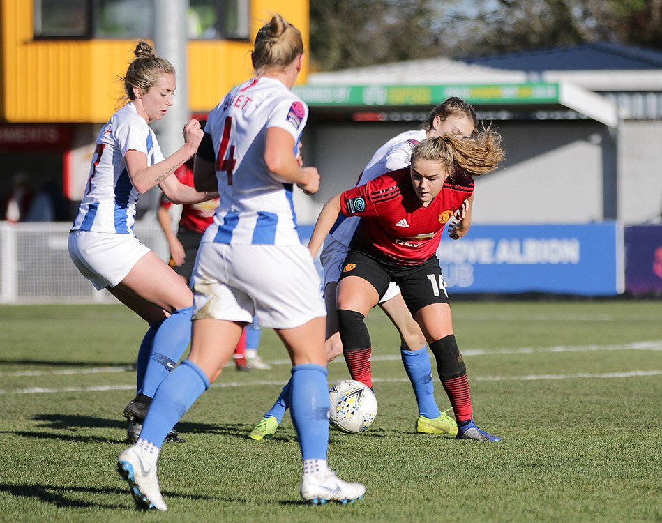 BHA Women 0 Man Utd Women 2 WFAC 4th rd 03 02 2019-1085 (46072413685).jpg