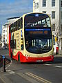 BJ11 XHO (Route 49) at Old Steine, Brighton (16519255873).jpg
