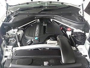 BMW N55 - Image: BMW N55 engine 2013