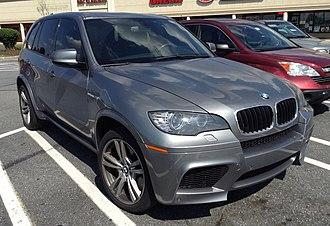BMW X5 (E70) - BMW X5 M