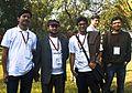 BNWIKI10-Bengali Wikipedians-Wikipedia 10th Anniversary Celebration.jpg