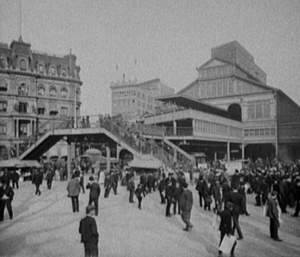 Park Row (BMT station) - Park Row station, circa 1905
