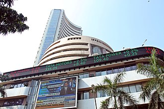 Bombay Stock Exchange - Image: BSE building at Dalal Street