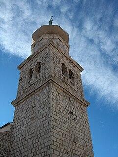 Church in Krk, Croatia