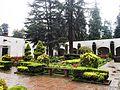Backyard of the Former Carmelite monastery in the Desierto de los Leones National Park, Mexico.jpg