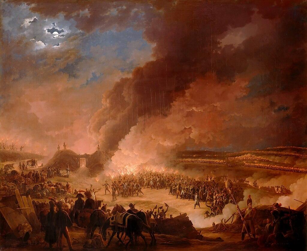 Баклер д'Альбе, канун битвы при Аустерлице.jpg