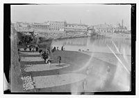 Baghdad, the riverfront, looking north to the Old City from the right bank, near the British Embassy LOC matpc.13270.jpg