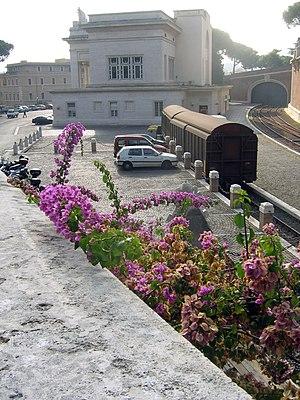Rail transport in Vatican City - Vatican City railway station