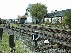 Wiesbaden-Dotzheim - Dotzheim station on the Aartalbahn