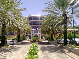 Central Bank of Curaçao and Sint Maarten - The building of the Bank of the Netherlands Antilles in 2010.
