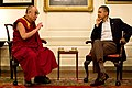 Barack Obama with the 14th Dalai Lama in the Map Room 2011.jpg
