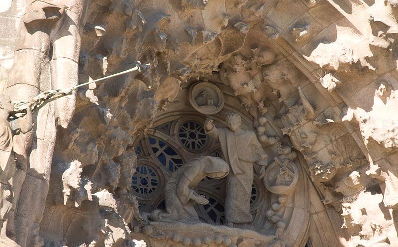 File:Barcelona, Spain - Basilica and Expiatory Church of the Holy Family - Sagrada Familia.jpg
