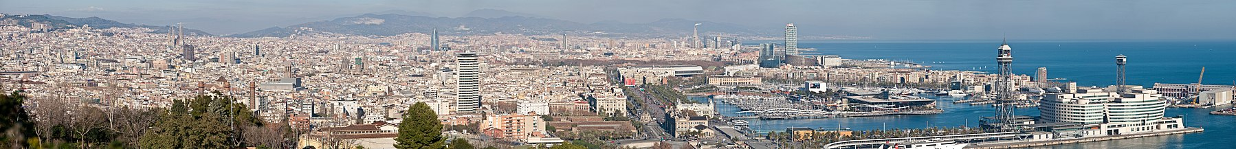 Barcelona Cityscape Panorama - Jan 2007 edit.jpg