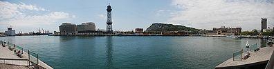 Barcelona Docks Panorama.jpg