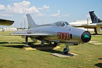 Barksdale Global Power Museum September 2015 44 (Mikoyan-Gurevich MiG-21F).jpg