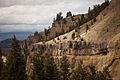 Basalt Columns at The Narrows of Yellowstone Canyon (3953330312).jpg