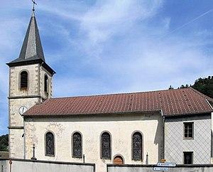 Basse-sur-le-Rupt - Image: Basse sur le Rupt, Eglise Saint Nicolas 2