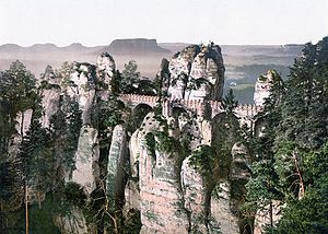 Bastei - The Bastei around 1900