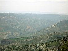 La valle dello Yarmuk
