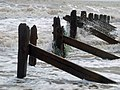 Beach groyne Spurn Head - geograph.org.uk - 819719.jpg
