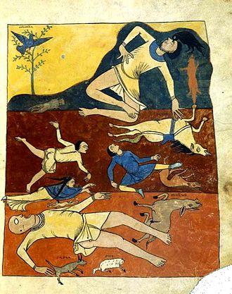Book of Revelation - The Apocalypse of St. Sever, circa 1150