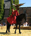 Beaucamps-le-Jeune (15 août 2009) Hélène, écuyère Hippogriffe 1.jpg