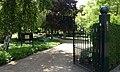 Begraafplaats Maria Rust, Rockanje. Toegangshek.jpg